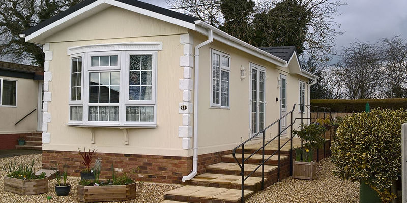 Park homes for sale at Downlands Park Bedfordshire