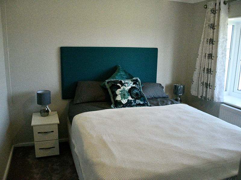 Barnwell guest bedroom at Edkins Park