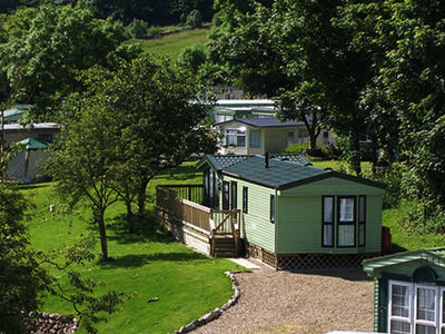 Picture of holiday caravans at Long Ashes Park, North Yorkshire, North of England
