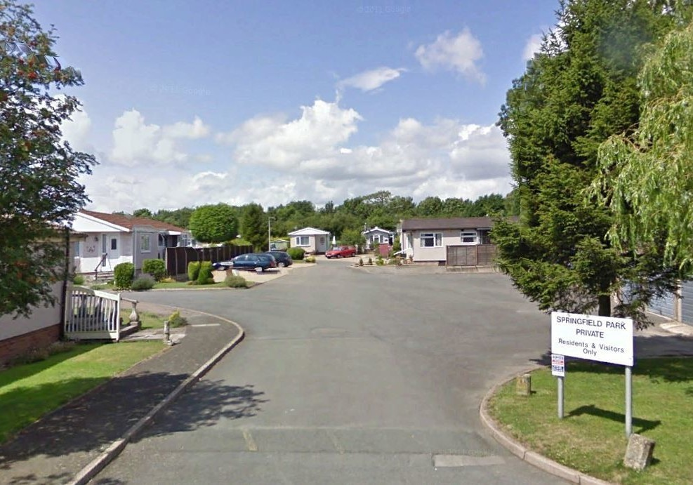 Springfield Park Hampshire Residential Park Homes In