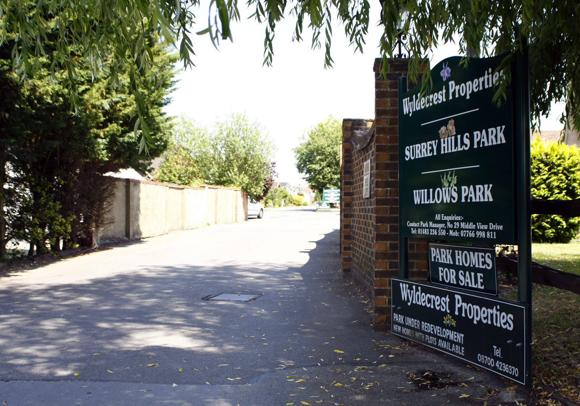 Traders Insurance Policy >> Surrey Hills Park (Guildford) - Residential Park Homes in Surrey, South East England