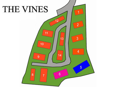 The Vines Park layout